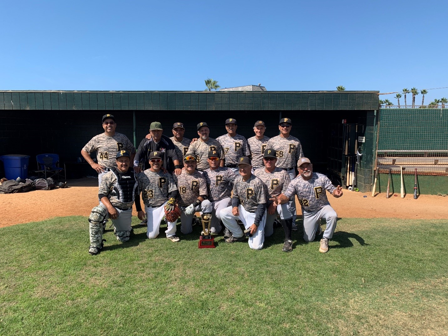 2018 MSBL 53+ SUMMER LEAGUE CHAMPIONS SAN DIEGO PIRATES