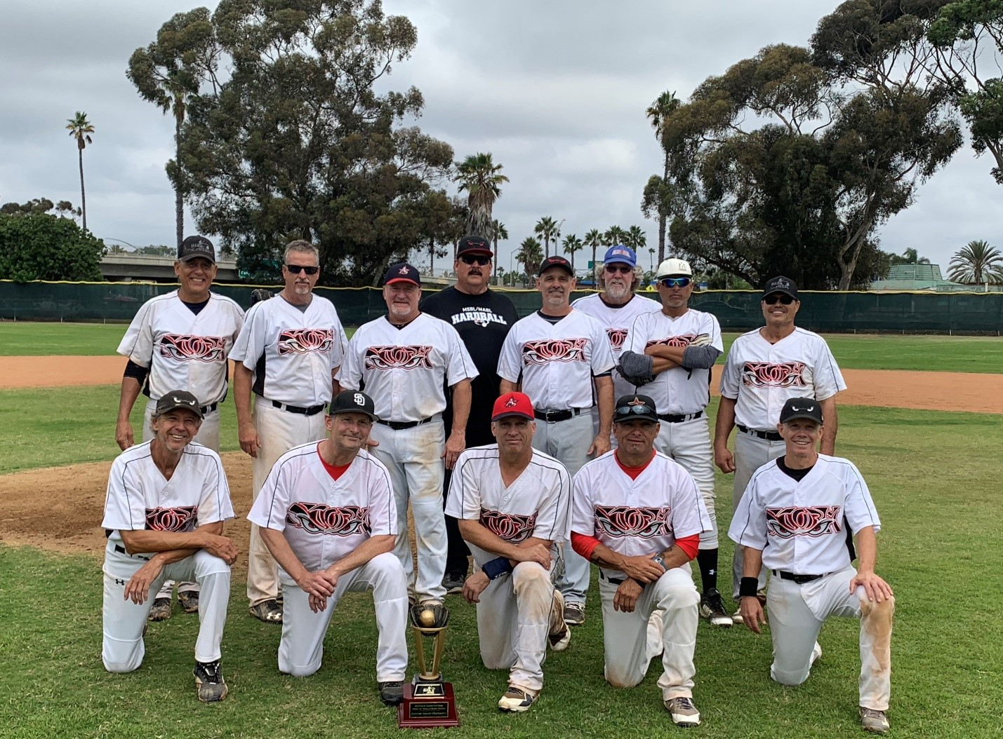 2018 MSBL 55+ NATIONAL DIVISION SUMMER LEAGUE CHAMPIONS NORTH COUNTY STORMS