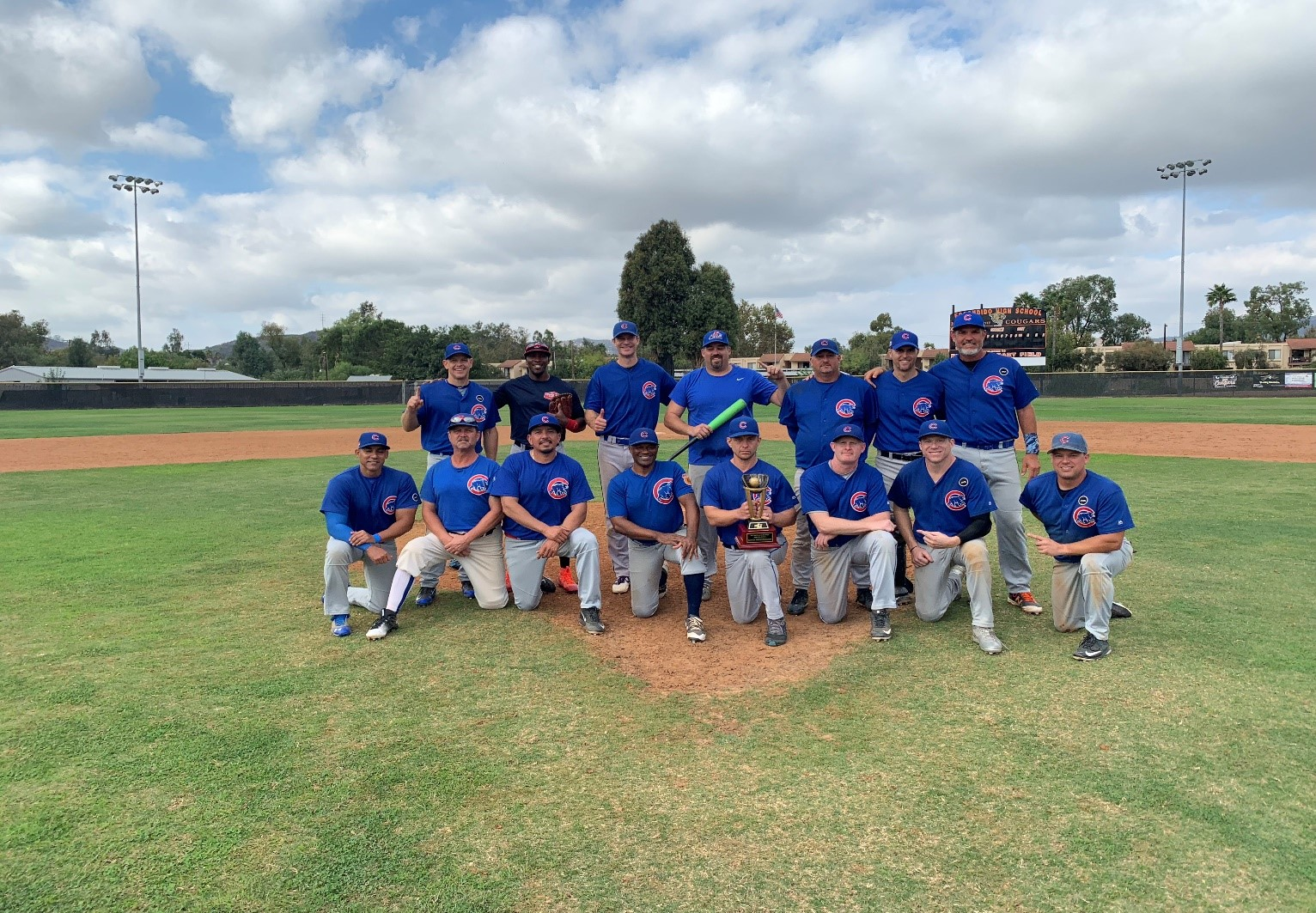 2018 MSBL 35+ SUMMER LEAGUE CHAMPIONS NORTH COUNTY CUBS