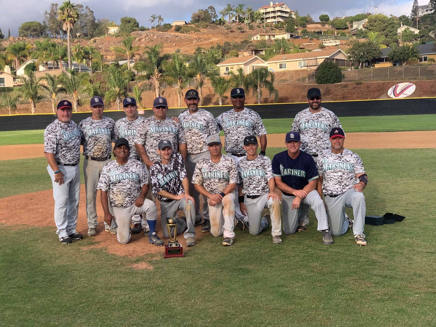 2018 MSBL 45+ SUMMER LEAGUE CHAMPIONS NORTH COUNTY MARINERS
