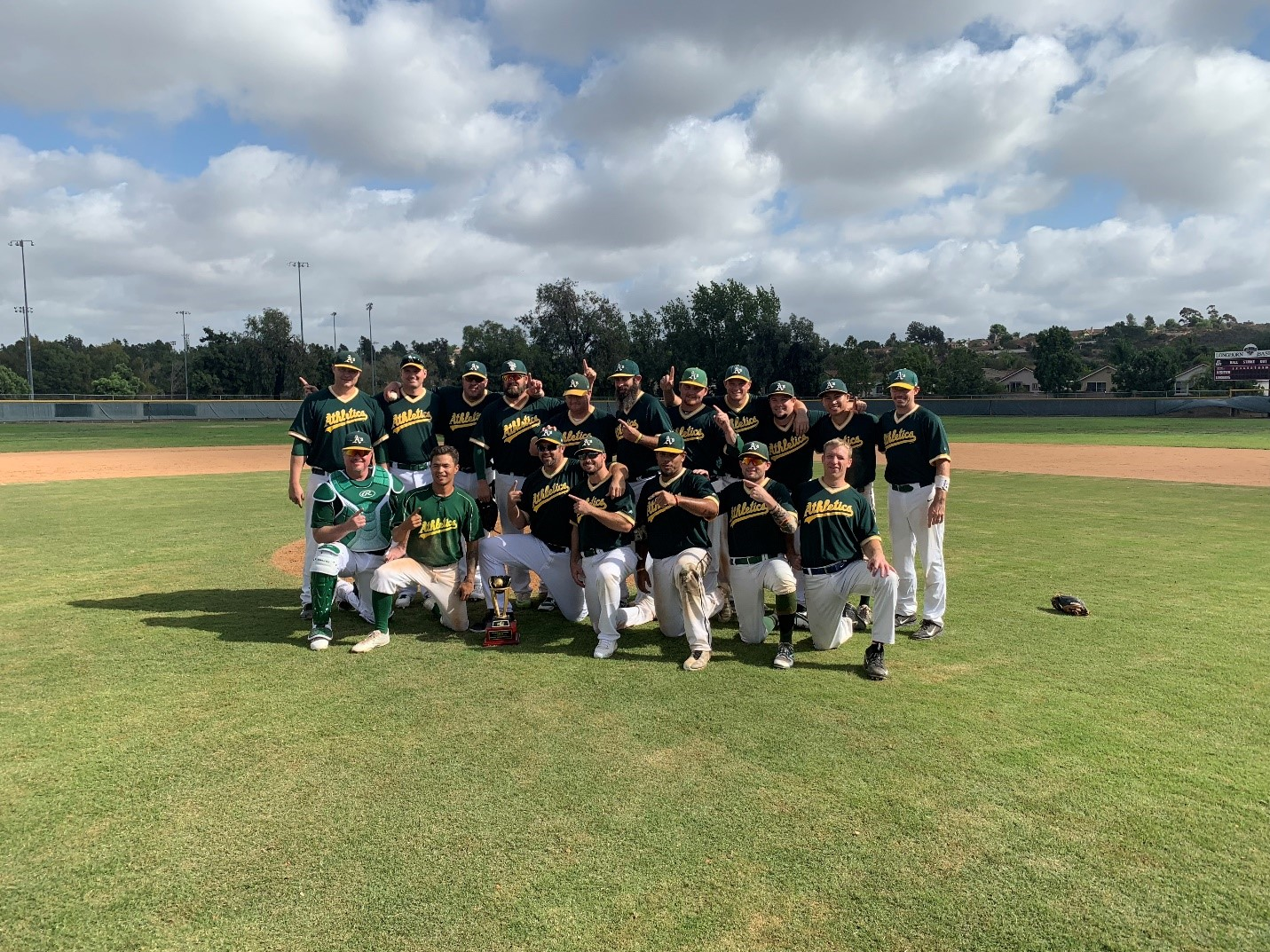 2018 MABL 18+ SUMMER LEAGUE CHAMPIONS SAN DIEGO A'S