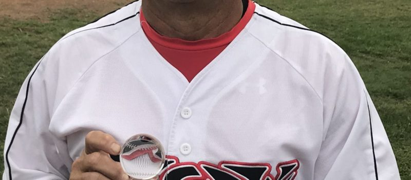 2018 REAL PROPERTY STAR MVP SUMMER MSBL 45+ DIVISION NATIONAL SHARKS JOE FLORES