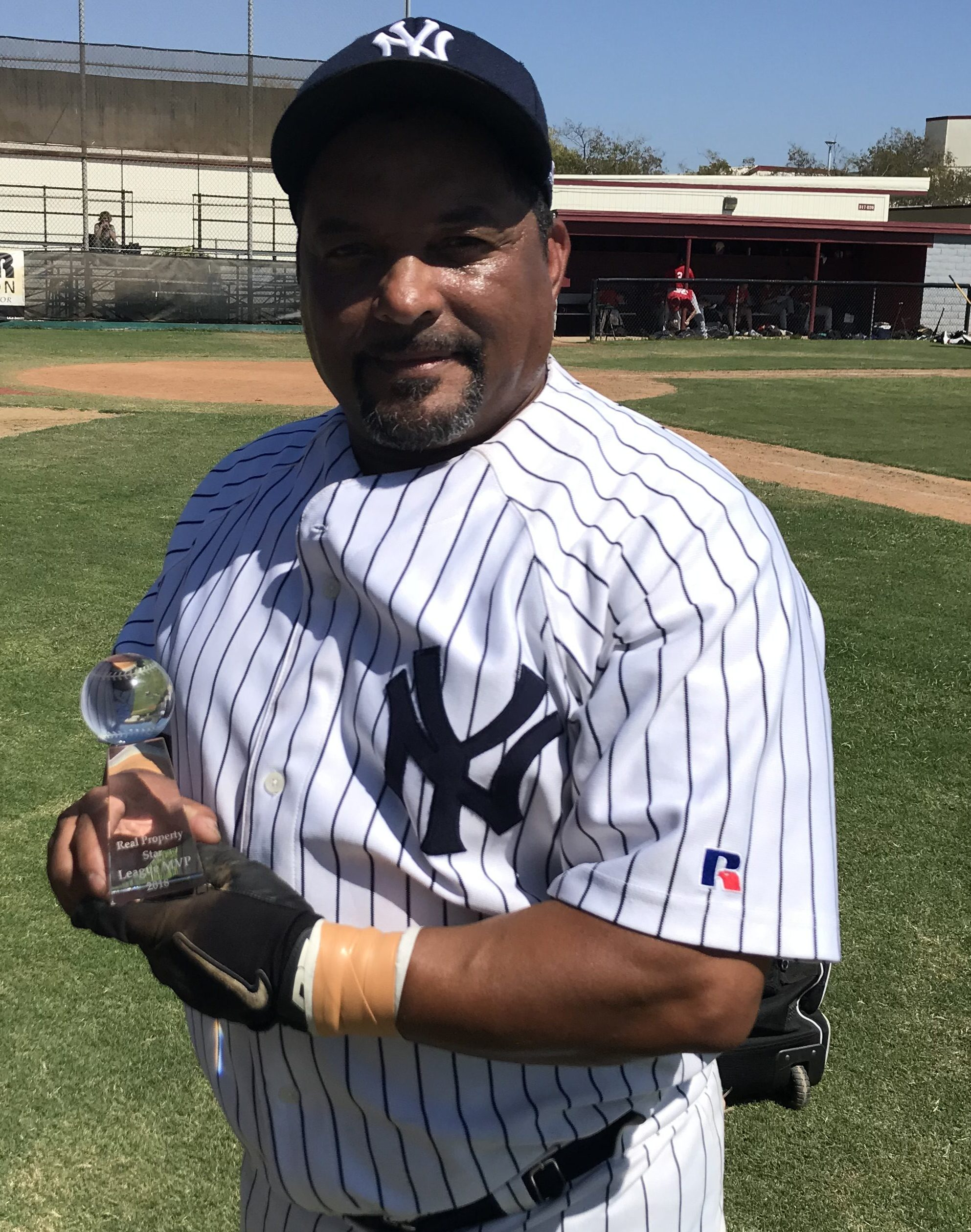 2018 REAL PROPERTY STAR MVP SUMMER MSBL 55+ AMERICAN DIVISION YANKEES Anthony Monteiro
