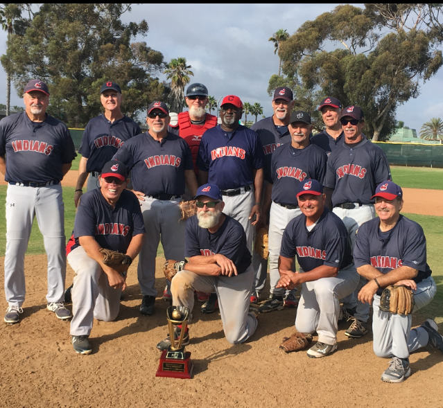 2018 MSBL 62+ NATIONAL DIVISION SUMMER LEAGUE CHAMPIONS NORTH COUNTY INDIANS