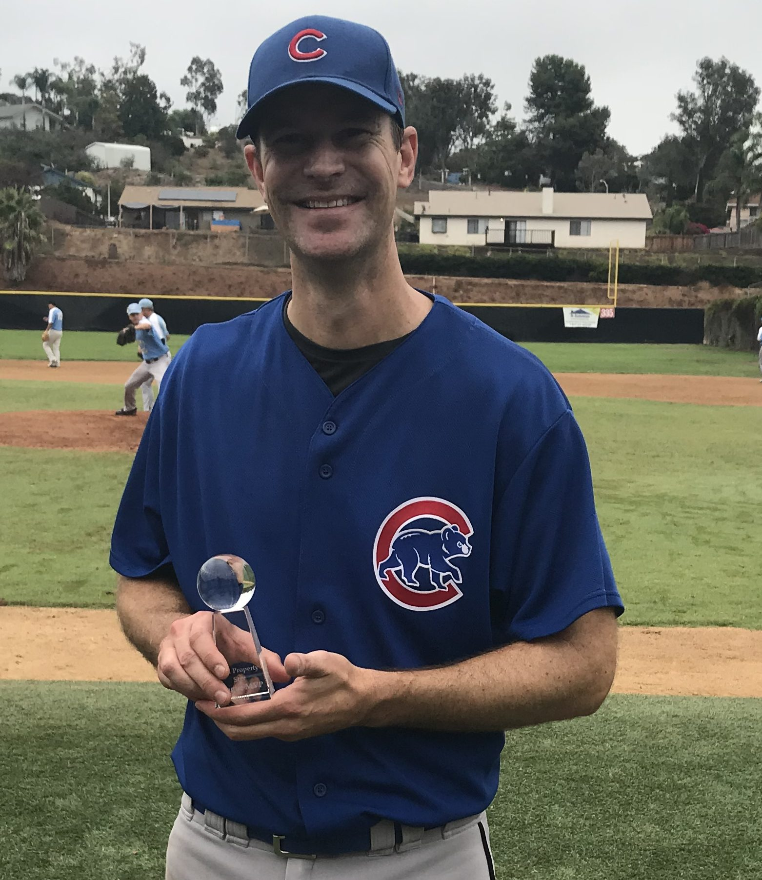 2018 REAL PROPERTY STAR MVP SUMMER MSBL 35+ DIVISION NORTH COUNTY CUBS MATT McNEIL