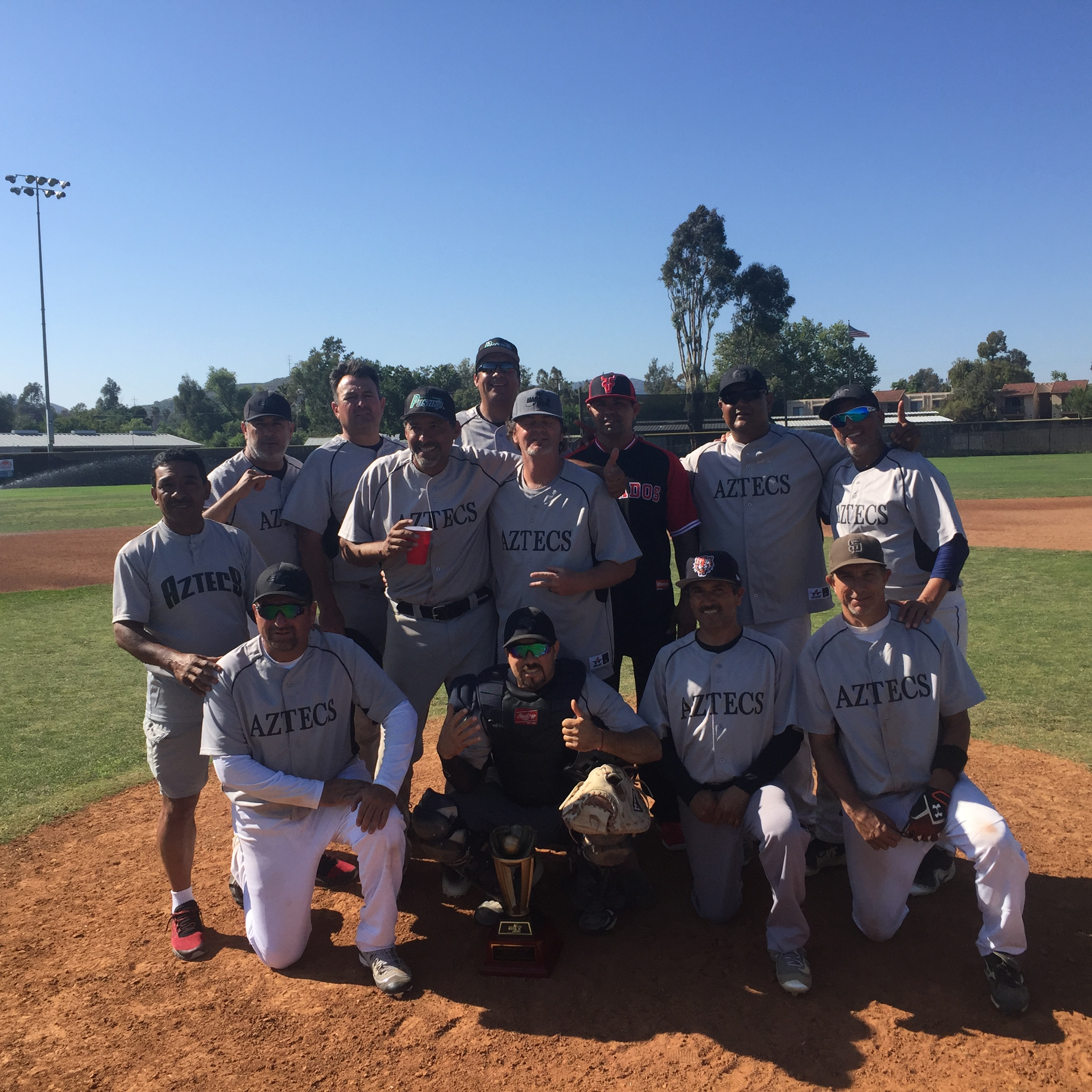 Congratulations to the  Aztecs, 2019 MSBL 45+ Division Spring Champions